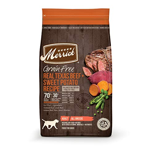 Merrick Grain Free Dry Dog Food Real Texas Beef & Sweet Potato Recipe - 22 lb. Bag
