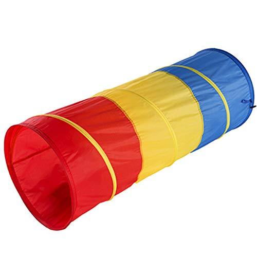 Farfly Jouets pour Enfants Tunnel Rampant Enfants en Plein Air IntéRieur Jouet Tube Tube Ramper Game Boy Girl Meilleur Cadeau D'Anniversaire