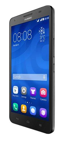 Huawei Ascend G750 Smartphone (13,9 cm (5,5 Zoll) HD-Display, 13 Megapixel Kamera, 8 GB Interner Speicher, Android 4.2) schwarz