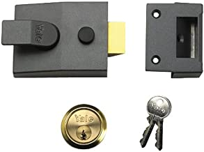 Yale Locks P88 Standaard Nightlatch DMG-cilinder