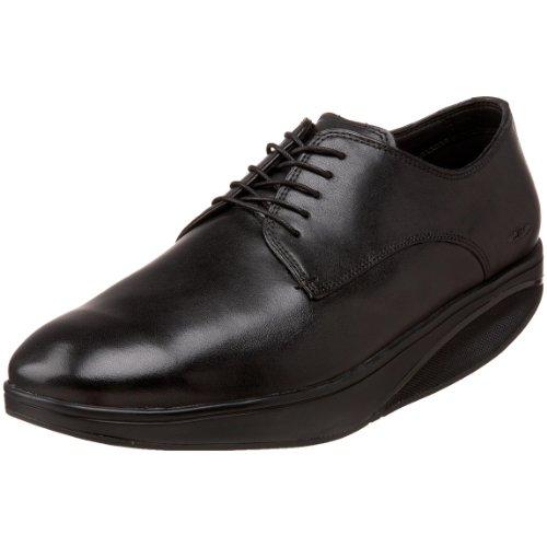 MBT Kabisa Negro Zapato Formal Caballero, Negro, 45