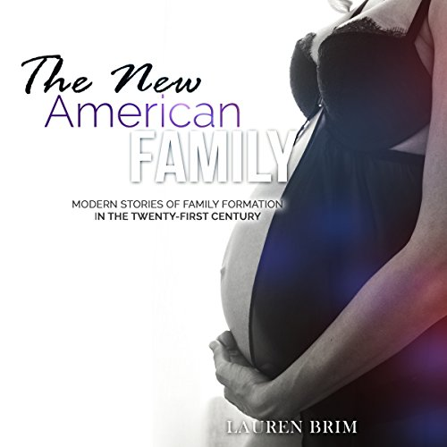 The New American Family audiobook cover art