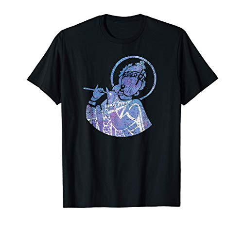 The Divine Flutist Lord Krishna T-Shirt