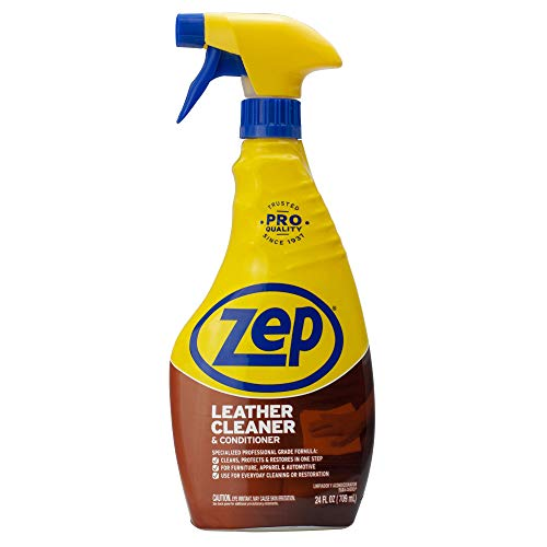 Zep Leather Cleaner and Conditioner 24 ounce ZUCLC24