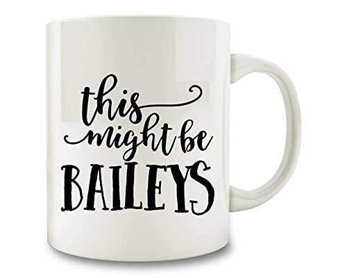 Dit kan Baileys koffiemok White Ceramic zijn.