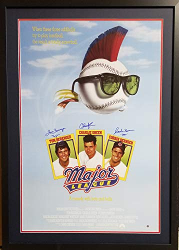 Charlie Sheen Rick Vaughn Tom Berenger Jake Taylor Major League Cleveland...