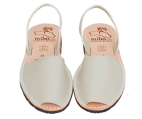 Authentic Avarca Menorquina Sandals Basic Box Natural - Talla 38 EU