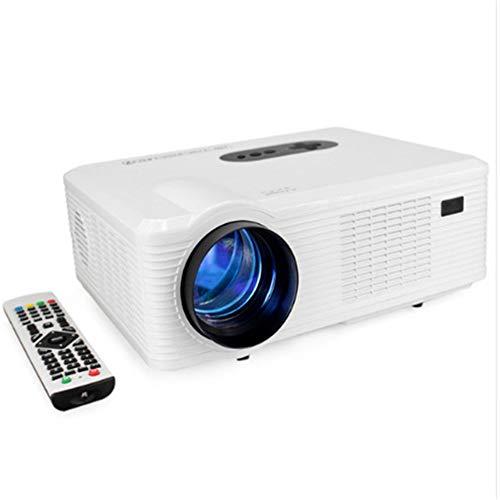 LCD Mini Smart-projector, thuis1080p multimedia-projector, 3000 lumen kan voor thuisbioscoop kantoor game-party op de mobiele telefoon worden aangesloten