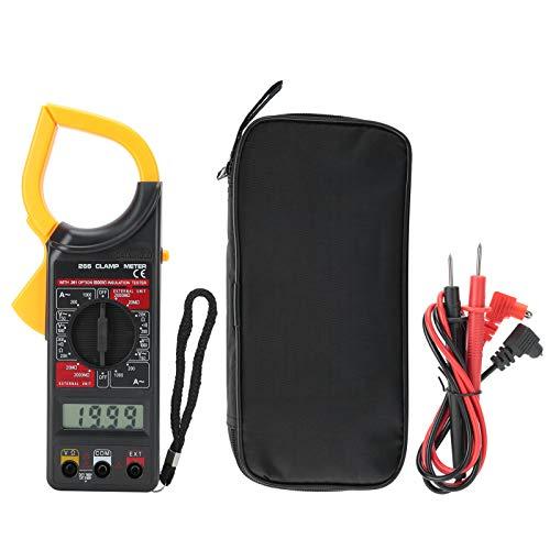 Clamp Meter, Voltmeter Electronic Multimeter Measuring Tool DT‑266 Multimeter Handheld Ammeter Digital Clamp Meter, for Home Industry