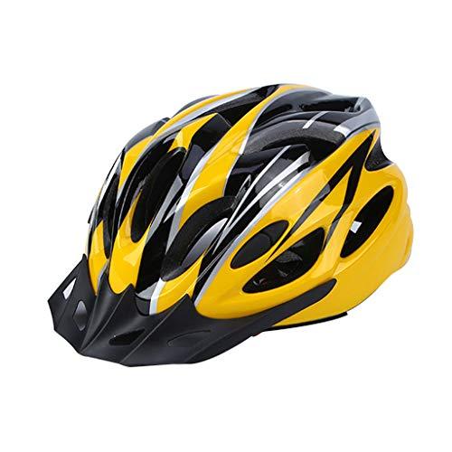 SUCHUANGUANG, Casco de Seguridad Ligero para Ciclismo, Ajustable, Transpirable, MTB, Bicicleta, monopatín, Sombrero para Hombre