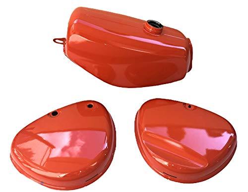 Tank Kraftstoffbehälter + Seitendeckel rot für Simson S51, S70 Enduro