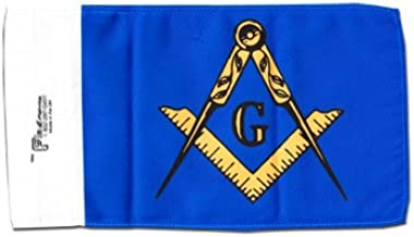 Masonic - 5.75 x 9 Motorcycle Flag