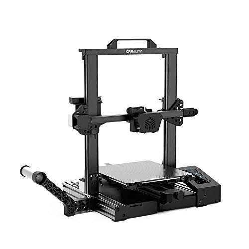 Creality CR-6 SE Leveling-Free Starter FDM 3D Printer, Auto Bed Leveling, Five-Minute Assembly, TMC2209 Drivers, 4.3 Inch Touchscreen, Build Volume 235 x 235 x 250mm