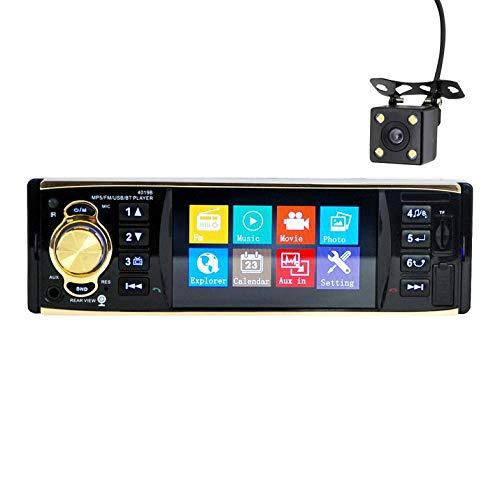 4.1 pollici Hd Wireless Car Mp5 Player Car Mp4 Wireless Handsfree Immagine inversa 4019B Lettore Mp5 wireless - Nero 4019B + Telecamera di retromarcia
