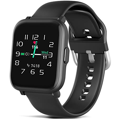 MorePro Blood Oxygen Heart Rate Monitor Smart Watch ...