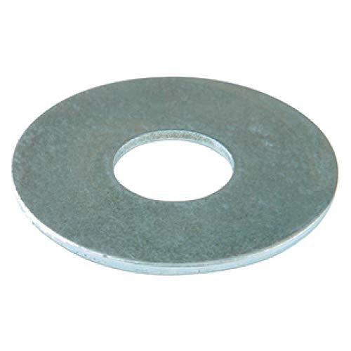 suki 250 Stück Karoscheibe 4,3 x 12 x 1,00 mm verzinkt DIN 9021, 6113171