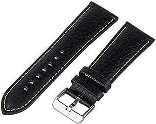 Hadley-Roma Men's Genuine Leather Watch Strap