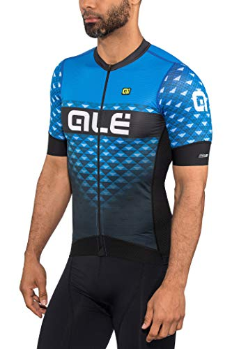 Alé Cycling PRS Hexa Kurzarm Trikot Herren Black-Blue Größe L 2019 Radtrikot kurzärmlig