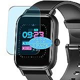 VacFun 3 Piezas Filtro Luz Azul Protector de Pantalla, compatible con Blackview R3 1.3' smart watch smartwatch, Screen Protector (Not Cristal Templado Funda Carcasa)