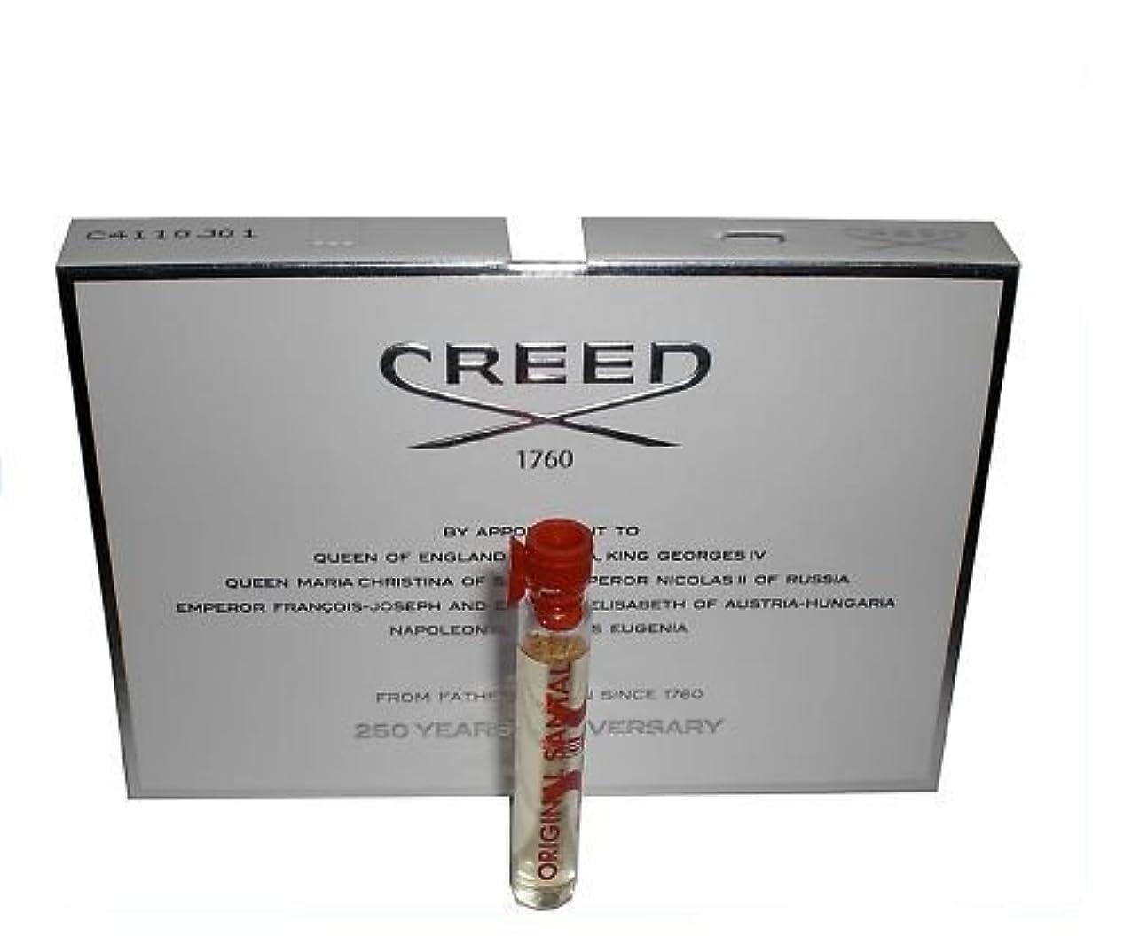 橋脚一族足枷Creed Original Santal (クリードオリジナルサンタル) 0.08 oz (2.5ml) サンプル Vial for Men