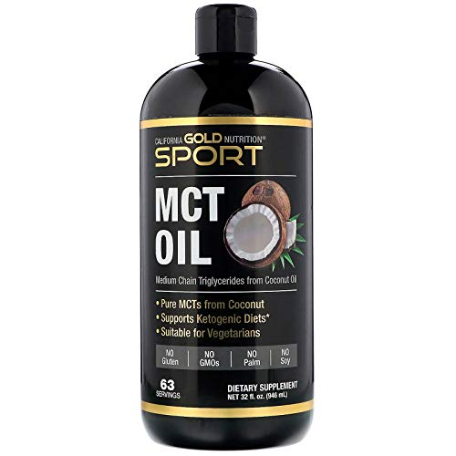 California Gold Nutrition Sport, MCT Oil, 32 fl oz (946 ml)