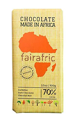 fairafric Zartbitterschokolade Mild 70% vegan, 100g