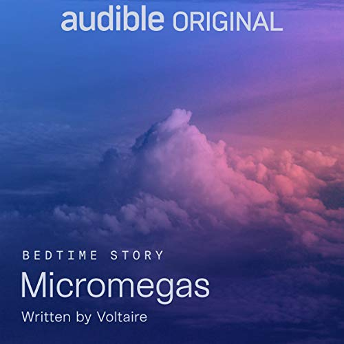 Micromegas audiobook cover art