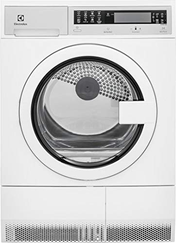Electrolux White Compact Front Load Laundry Pair with EFLS210TIW 24
