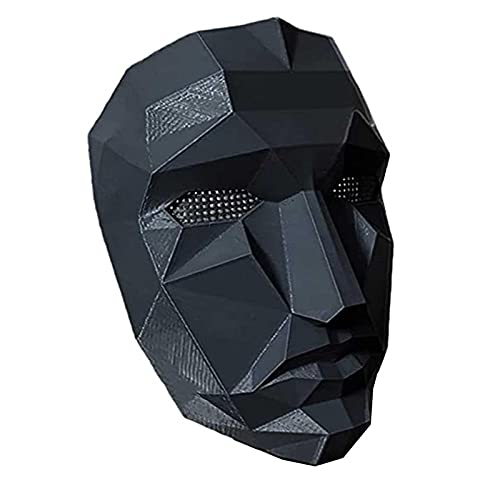 gormyel Máscara De Juegos De Calamar, 2021 TV Cosplay Mascarada Accesorios Accesorios De Halloween, Squid Game Apoys para Jugar A La rol
