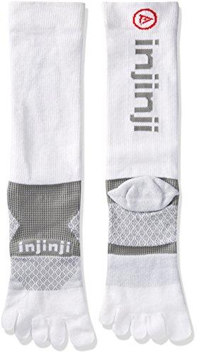 Injinji Multi-Sport Midweight Crew Socken weiß M