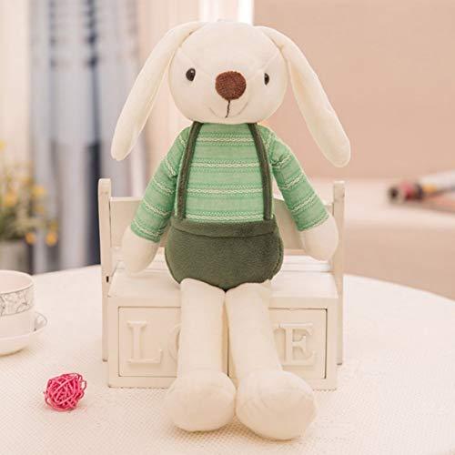 Sylvialuca Kinder Kinder Cartoon Zucker süßigkeiten Kaninchen plüsch Puppe niedlichen Kaninchen Lange Ohr Schlafzimmer weiche Puppe Toys Zucker Grab Puppe