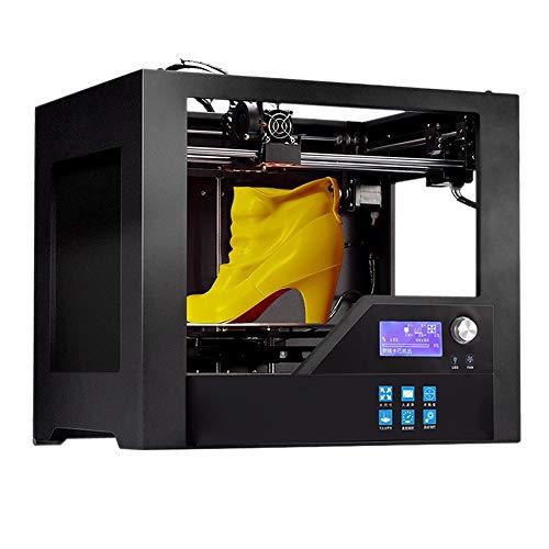 TONGDAUR Cadre Plein en métal d'imprimante de Z-603S 3D avec la précision chauffée de lit Haute 280 * 180 * 180mm (11 * 7.1 * 7.1in) Taille de la Construction 3D d'impression
