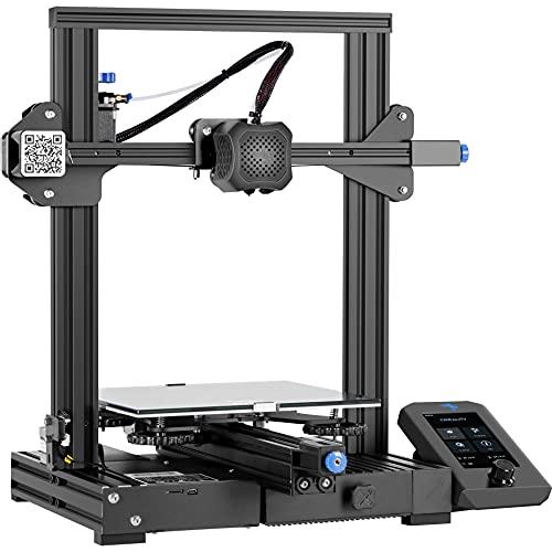 Creality 3D Drucker Ender 3 V2, FDM DIY 3D-Drucker mit Aktualisiertem ExtruderLebenslaufdruck und, Funktioniert mit TPU/PLA/ABS, Super Gute Druckgröße 220x220x250mm【Ender 3 Verbesserter】