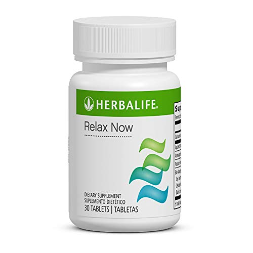 Herbal Stress Relief Supplement Relax Now 30 Tablets