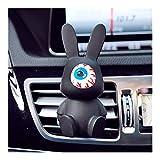 JIAHUI Car Air-acondicionado Outlet Perfume CLIP Car Perfume Decoraciones Rhinestone Rosa Accesorios para coche (nombre del color: Black2)