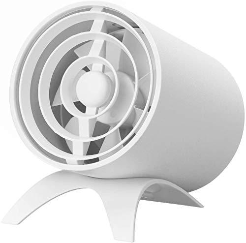 WYBW Ventilador USB, Control de prensa de carga USB Ventilador eléctrico Silencio doméstico Aire acondicionado Ventilación por convección de aire Ventilador de escritorio