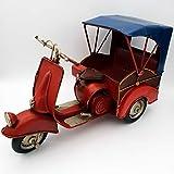 DynaSun Art Maqueta de coche de época vintage de metal, de colección de estilo retro antiguo, escala 1:8, 25 cm