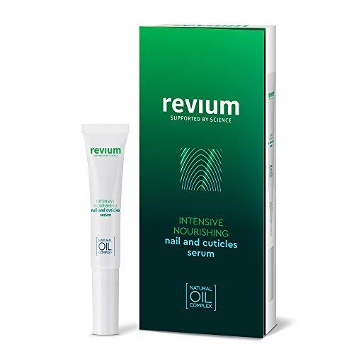 Revium Intensiv Pflegendes Nagel- Und Nagelhaut-Serum, Spezial-Pflegeprodukt Mit Myrrhe-, Baumwoll-, Mandel-, Raps- Und Weizenkeim-Ölen, Angereichert Mit Regenerativen Vitaminvoctail, Lecithin, 7ml