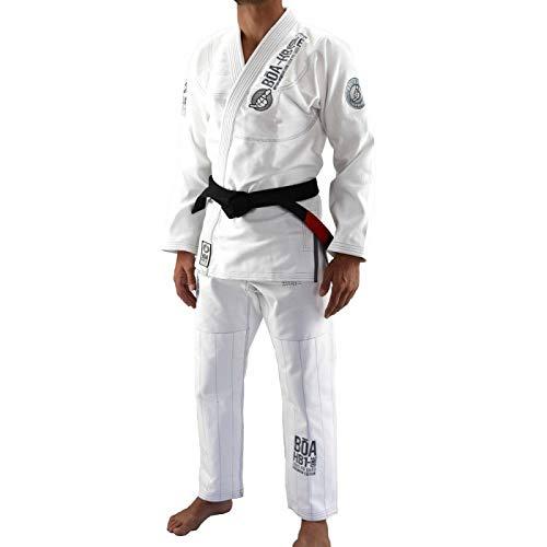 Bõa BJJ Gi HB1 One Kimono para Hombre, Brazilian Jiu Jitsu, color Blanco, A3