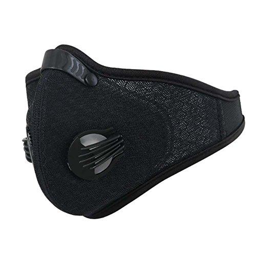 Handfly Ciclismo Máscara Facial Nylon Spandex Ativado de Carbono Leve Respirável Ajustável Ao Ar Livre Esportes Máscara Facial para Homens Mulheres
