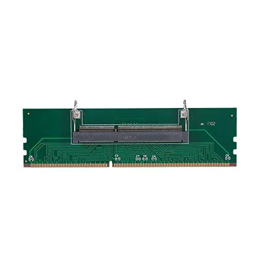 Lechnical DDR3 Laptop to Desktop DDR3 Memory RAM Connector Adapter Card 1.5V DDR3 Converter Card