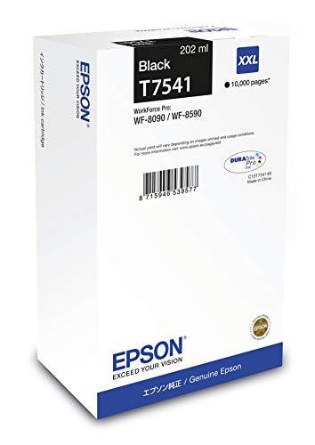 Patrone Epson Workforce Pro Wf-8090 T7541 XXL black