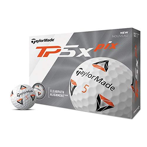 TaylorMade TP5x pix 2.0 Golfball, Dutzend
