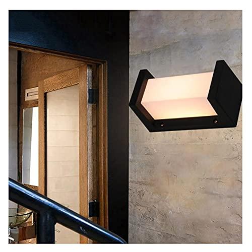 ZXQ Lámpara de Pared LED de Aluminio Iluminación Exterior Luces de Pared Modernas para el hogar Escaleras al Aire...