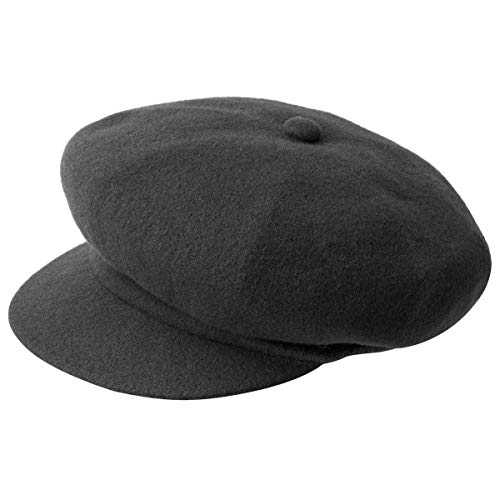 Kangol Wool Spitfire Gorro, Grau (Dark Flannel), Talla Inglesa: Large para Hombre