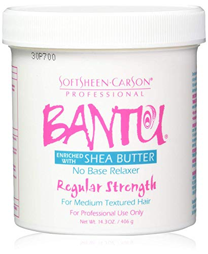 SOFT SHEEN Carson Bantu with Shea Butter No Base Crème Relaxer Regular Strength 15oz/425g