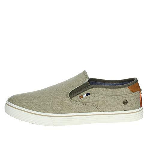 Wrangler WM01041A Sneakers Mann hellgrau 43