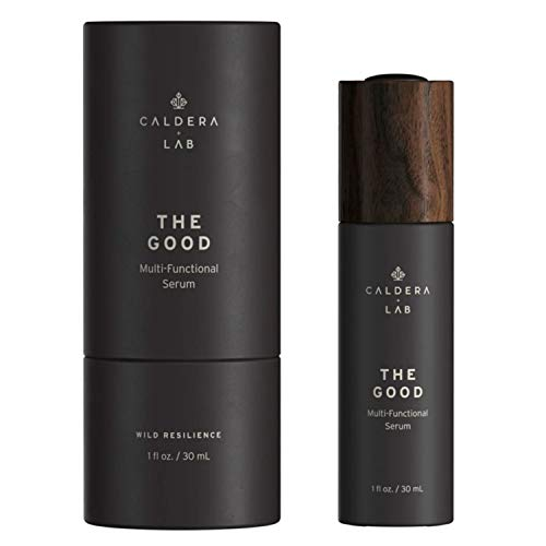 Caldera + Lab The Good Multi-Functional Men's Face Serum - Plant-Based, Non-Toxic, Organic Men's Skincare (1 oz.)