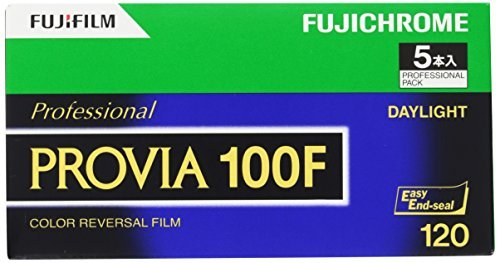 FUJIFILM リバーサルフィルム フジクローム PROVIA 100F ブローニー 12枚 5本 120 PROVIA100F EP NP12EX5