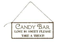 candy bar schild candy bar dekorieren so gehts. Black Bedroom Furniture Sets. Home Design Ideas